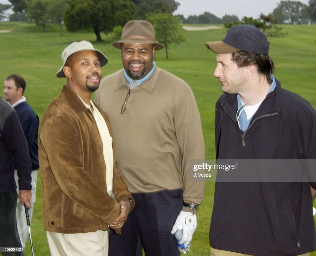 Michael Boatman, <a gi-track='captionPersonalityLinkClicked' href=/galleries/search?phrase=Chi+McBride&family=editorial&specificpeople=227026 ng-click='$event.stopPropagation()'>Chi McBride</a> and Billy Baldwin during 3rd Annual Project ALS Spring Benefit - Celebrity Golf Tournament at The Lodge at Torrey Pines in La Jolla, California, United States.