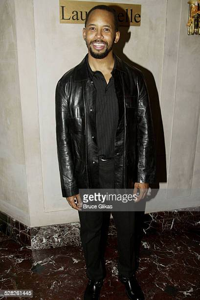 Michael Boatman during The Opening of Master Haroldand the boys and after party at Laura Belle in New York City New York United States
