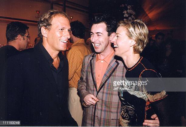 Michael Bolton Alan Cumming and Ellen DeGeneres during LA Premiere of HBO's 'If These Walls Could Talk 2' in Westwood California United States