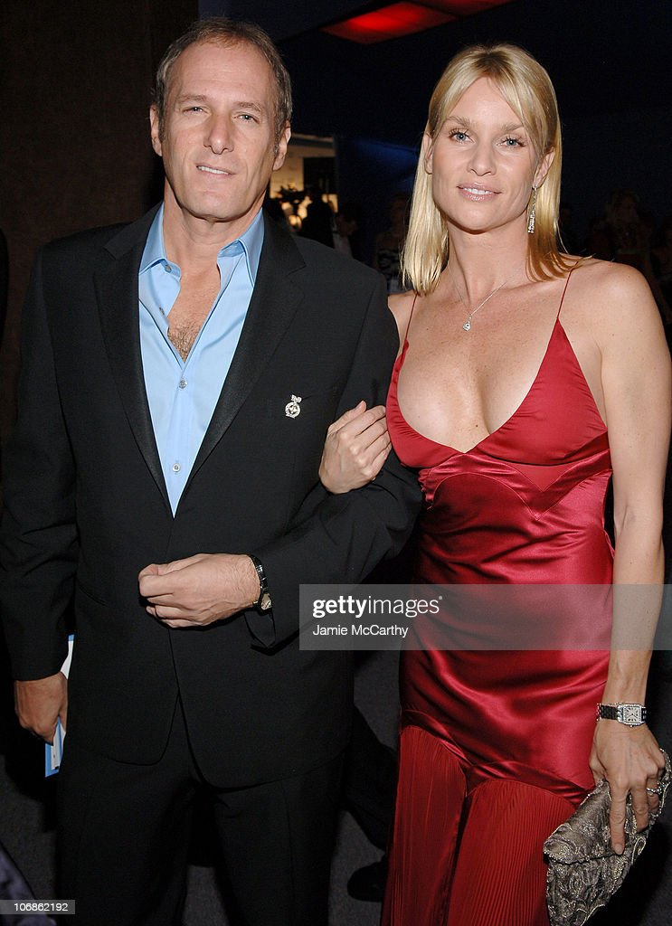 Michael Bolton and Nicollette Sheridan during 14th Annual Elton John AIDS Foundation Oscar Party Cohosted by Audi Chopard and VH1 Chopard at Pacific...