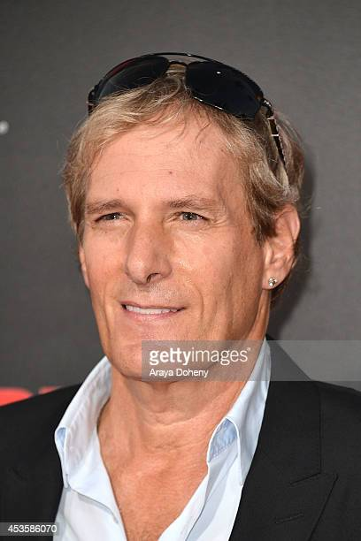 Michael Bolton arrives at 'The November Man' Los Angeles Premiere at TCL Chinese Theatre on August 13 2014 in Hollywood California