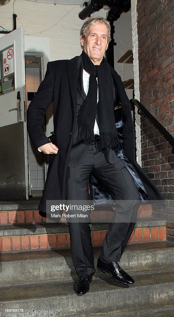 Michael Bolton at Locanda Locatelli restaurant on March 27, 2013 in London, England.