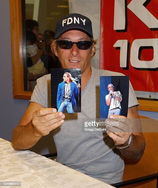 Michael Bolton at the signing of his new CD 'Only a Woman Like You'