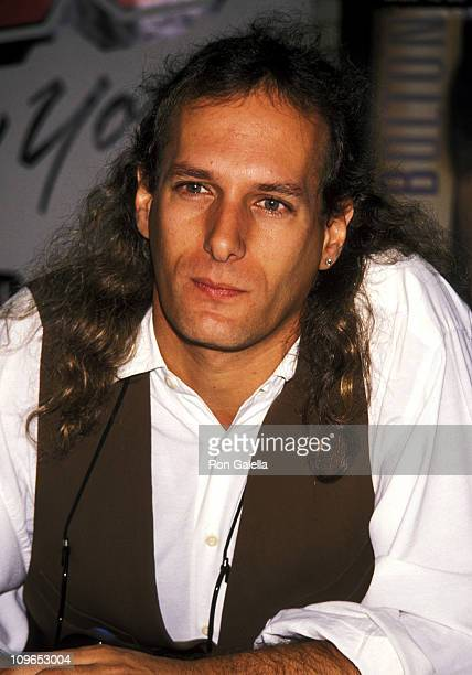 Michael Bolton during Michael Bolton In Store Album Signing at Sam Goody's in New York City September 7 1990 at West Village in New York City New...