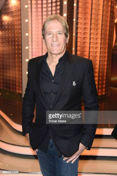Michael Bolton during the after show party of the television show 'Willkommen bei Carmen Nebel' on April 8 2017 in Magdeburg Germany