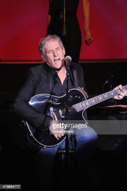 Michael Bolton performs at Harrah's Resort on February 28 2014 in Atlantic City New Jersey