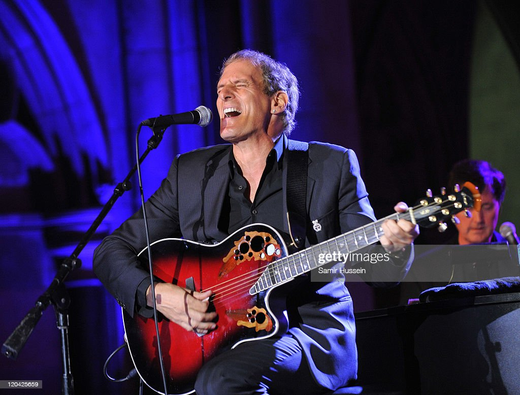 Michael Bolton performs live at the FitFlop Shooting Stars Benefit Closing Ball following a two-day golf tournament raising vital funds for Make-A-Wish Foundation UK at the Royal Courts of Justice on August 5, 2011 in London, England.