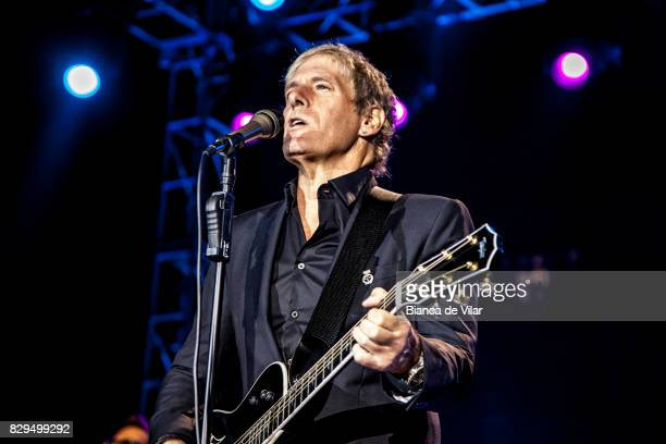 Michael Bolton performs on August 10 2017 in Marbella Spain