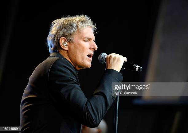 Michael Bolton performs on 'Fox Friends' Summer Concert Series at FOX Studios on May 24 2013 in New York City