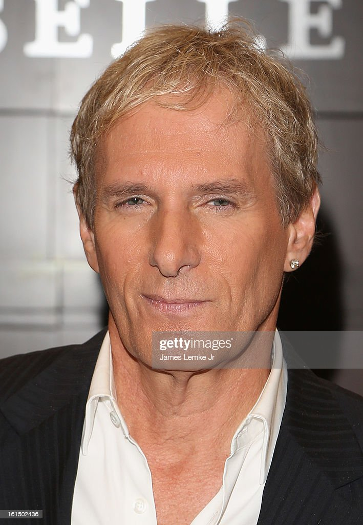 Michael Bolton signs copies of his book 'The Soul Of It All: My Music, My Life' held at the Barnes & Noble bookstore at The Grove on February 11, 2013 in Los Angeles, California.