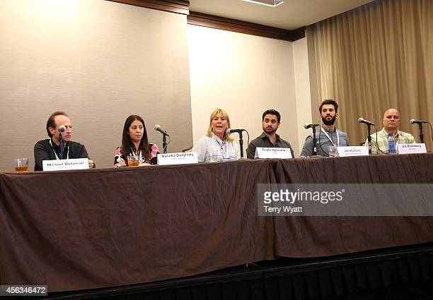 Michael Boltzman of AEG Live Natalka Dudynsky of ICM Partners Gayle Holcomb of WME Jon Romero of Vector Management Joe Rosenberg of AM Only and Rick...