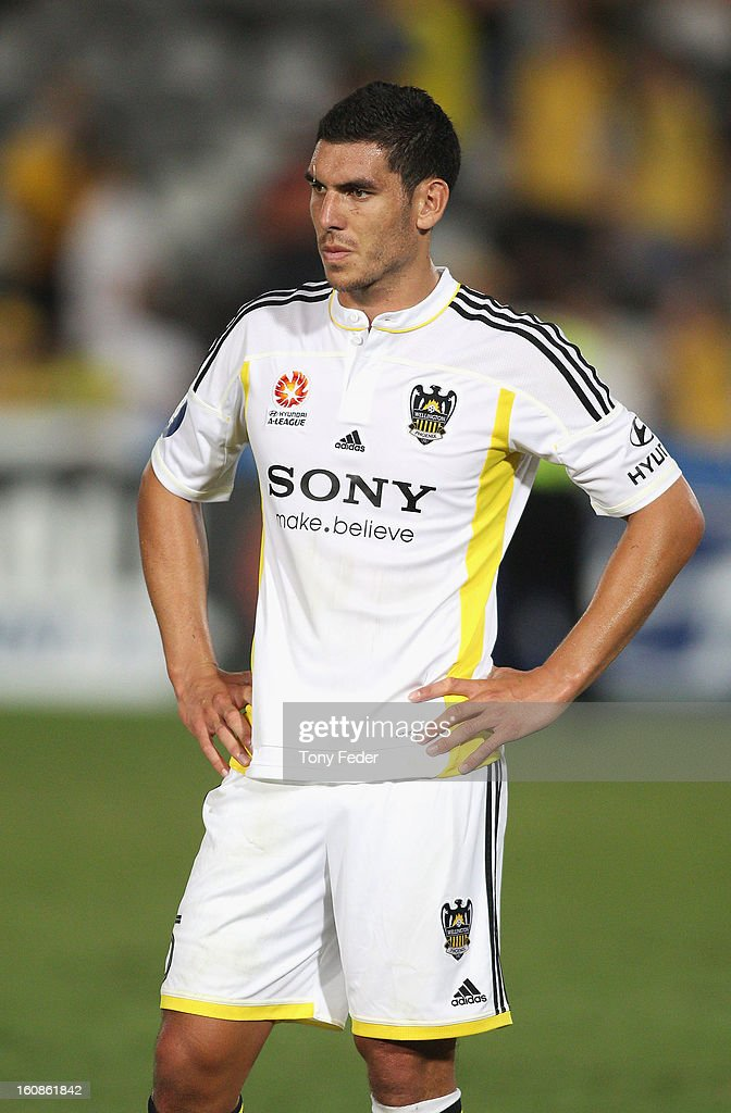 Michael Boxall of the Phoenix looks dejected after the game during the round 20 A-League match between the Central Coast Mariners and the Wellington Phoenix at Bluetongue Stadium on February 7, 2013 in Gosford, Australia.
