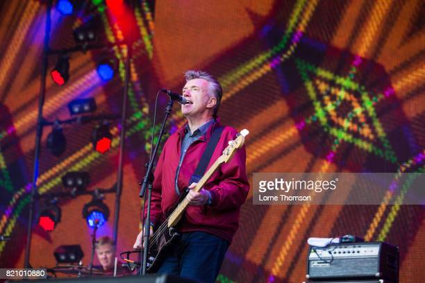 Michael Bradley of The Undertones performs on Day 2 of Rewind Festival at Scone Palace on July 22 2017 in Perth Scotland