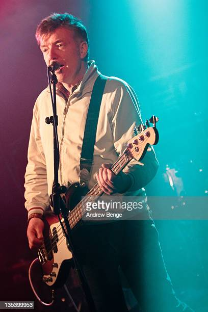 Michael Bradley of The Undertones performs on stage at Cockpit on December 9 2011 in Leeds United Kingdom