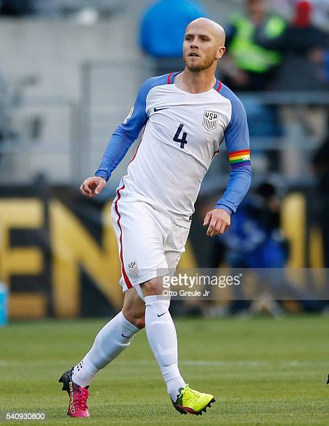 Michael Bradley of the United States in action against Ecuador during the 2016 Quarterfinal Copa America Centenario match at CenturyLink Field on...