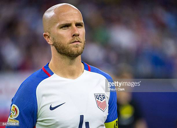 Michael Bradley of United States prior to the Copa America Centenario Semifinal match between United States and Argentina at NRG Stadium on June 21...