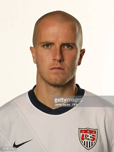 Michael Bradley of USA poses during the official FIFA World Cup 2010 portrait session on June 3 2010 in Centurion South Africa