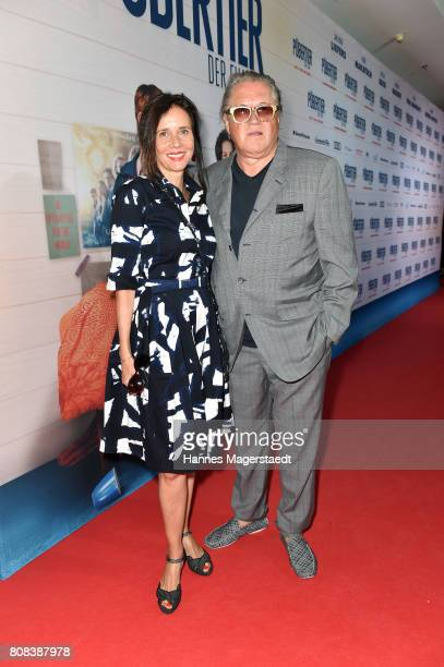 Michael Brandner and his wife Karin Brandner during the 'Das Pubertier' Premiere at Mathaeser Filmpalast on July 4 2017 in Munich Germany