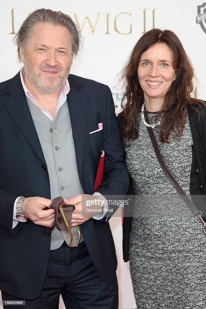Michael Brandner and Karin Brandner attends Ludwig II - Germany Premiere at Mathaeser Filmpalast on December 13, 2012 in Munich, Germany.