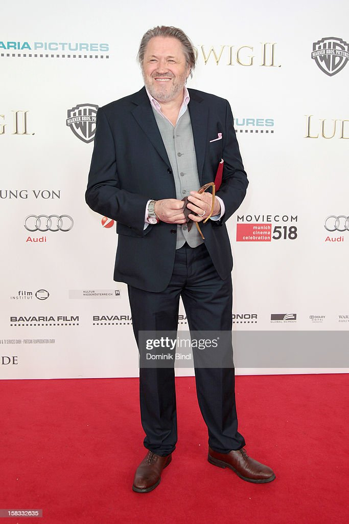 Michael Brandner attends Ludwig II - Germany Premiere at Mathaeser Filmpalast on December 13, 2012 in Munich, Germany.
