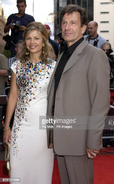 Michael Brandon and Glynis Barber arrives for the European film premiere of King Arthur at the Empire Leicester Square in central London