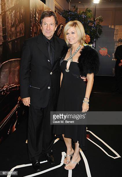 Michael Brandon and Glynis Barber attends the Specsavers Crime Thriller Awards at the Grovesnor House Hotel on October 21 2009 in London England