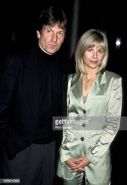 Michael Brandon and Glynis Barber during 'Deja Vu' Premiere April 13 1998 at Director's Guild of America Theater in Los Angeles California United...