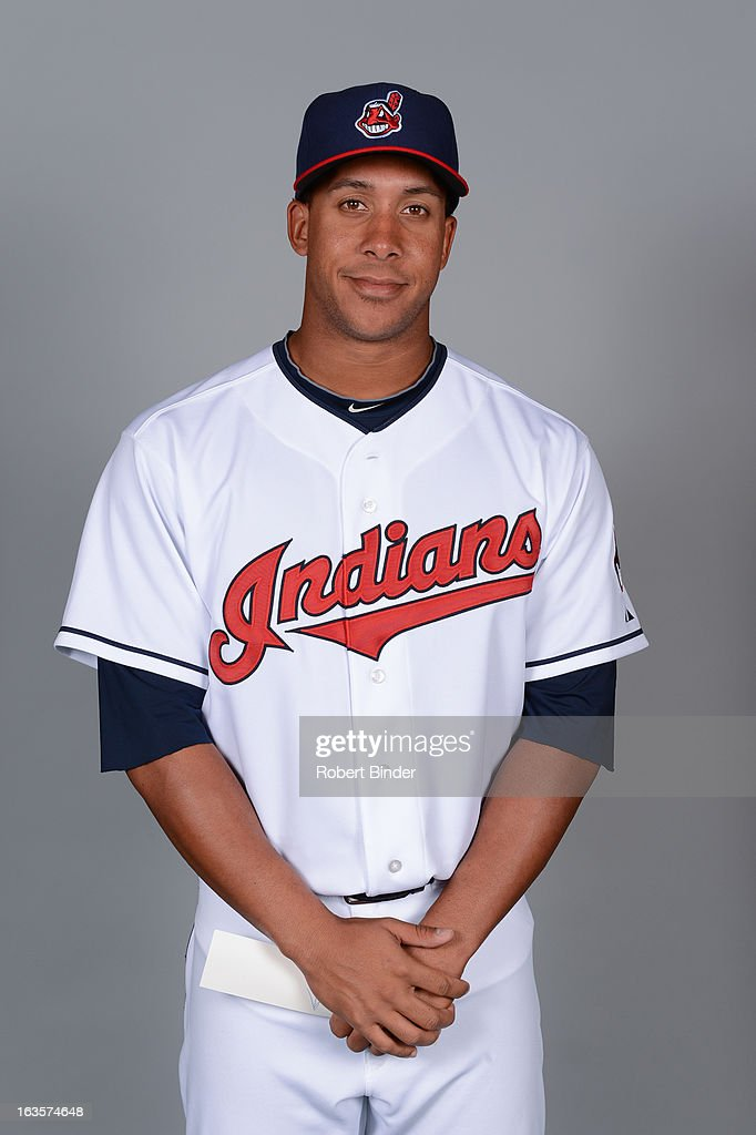 Michael Brantley #23 of the Cleveland Indians poses during Photo Day on February 19, 2013 at Goodyear Ballpark in Goodyear, Arizona.