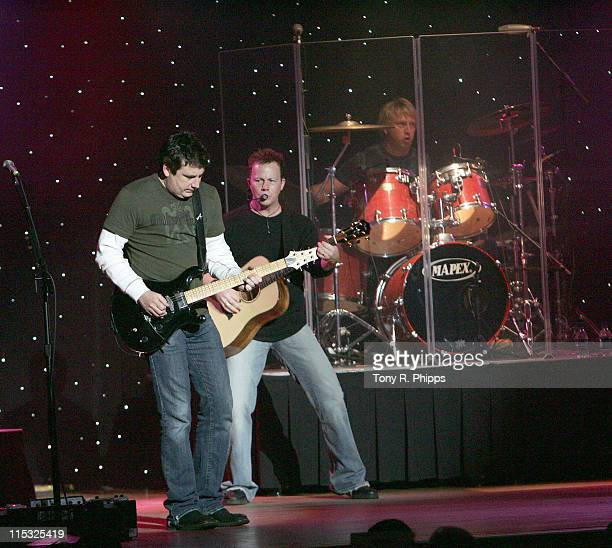 Michael Britt Dean Sams and Keech Rainwater during Sprint Sound and Speed VIP Gala Dinner Auction and Performance at The Wildhorse in Nashville...