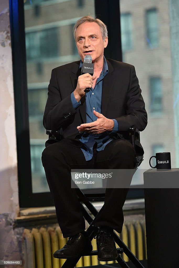 Michael Brown discusses 'Changing Normal: How I Helped My Husband Beat Cancer' at AOL Studios on April 29, 2016 in New York, New York.
