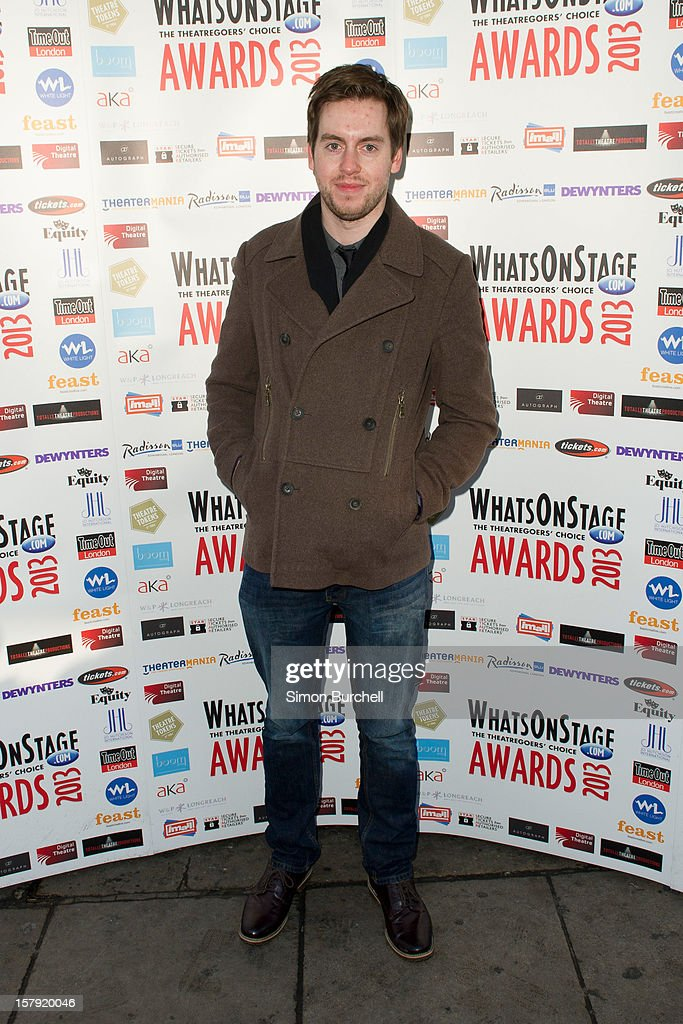 Michael Bruce attends the Whatsonstage.com Theare Awards nominations launch at Cafe de Paris on December 7, 2012 in London, England.