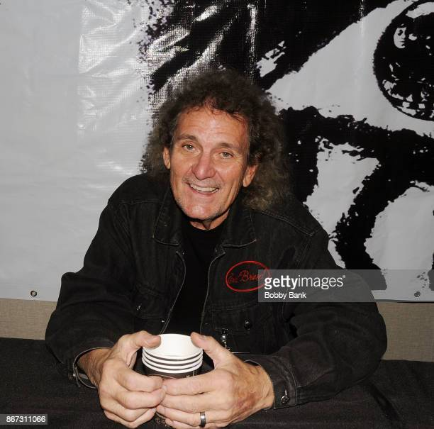 Michael Bruce of the Alice Cooper Band attends Chiller Theater Expo Winter 2017 at Parsippany Hilton on October 27 2017 in Parsippany New Jersey