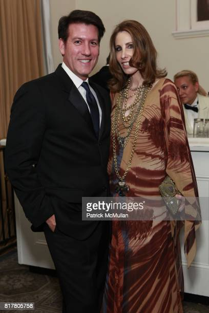 Michael Bruno and Madeline Stuart attend THE 38TH ANNUAL KIPS BAY DECORATOR SHOW HOUSE Preview and Dinner Celebrating Women In Design at 106 East...