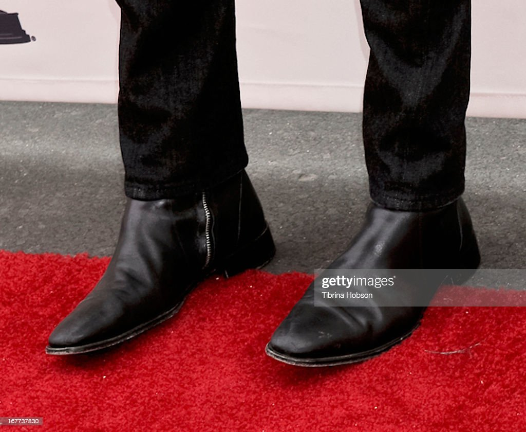 <a gi-track='captionPersonalityLinkClicked' href=/galleries/search?phrase=Michael+Buble&family=editorial&specificpeople=215140 ng-click='$event.stopPropagation()'>Michael Buble</a> (shoe detail) attends the Academy of Television Arts & Sciences presents an evening with <a gi-track='captionPersonalityLinkClicked' href=/galleries/search?phrase=Michael+Buble&family=editorial&specificpeople=215140 ng-click='$event.stopPropagation()'>Michael Buble</a> at the Wadsworth Theater on April 28, 2013 in Los Angeles, California.