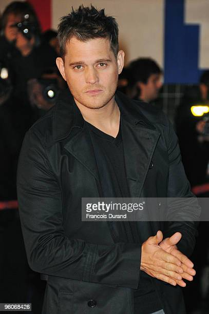 Michael Buble attends the NRJ Music Awards 2010 at Palais des Festivals on January 23 2010 in Cannes France