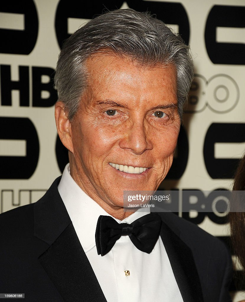 Michael Buffer attends the HBO after party at the 70th annual Golden Globe Awards at Circa 55 restaurant at the Beverly Hilton Hotel on January 13, 2013 in Los Angeles, California.