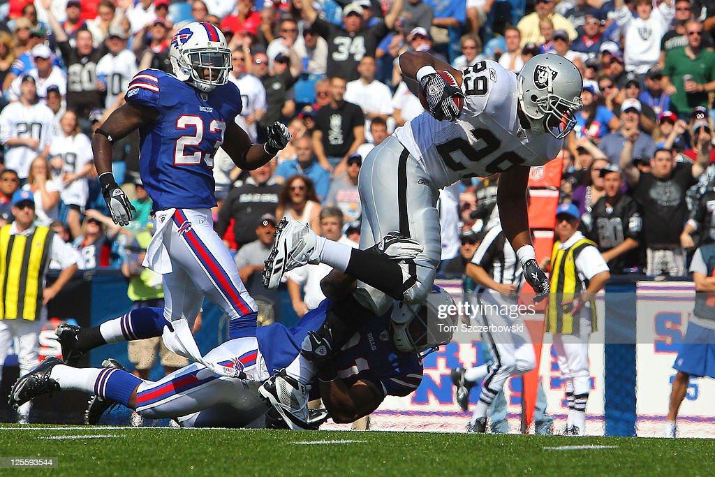 Oakland Raiders v Buffalo Bills