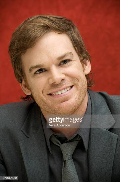 Michael C Hall at the 'Dexter' press conference at the Four Seasons Hotel on September 25 2009 in Beverly Hills California