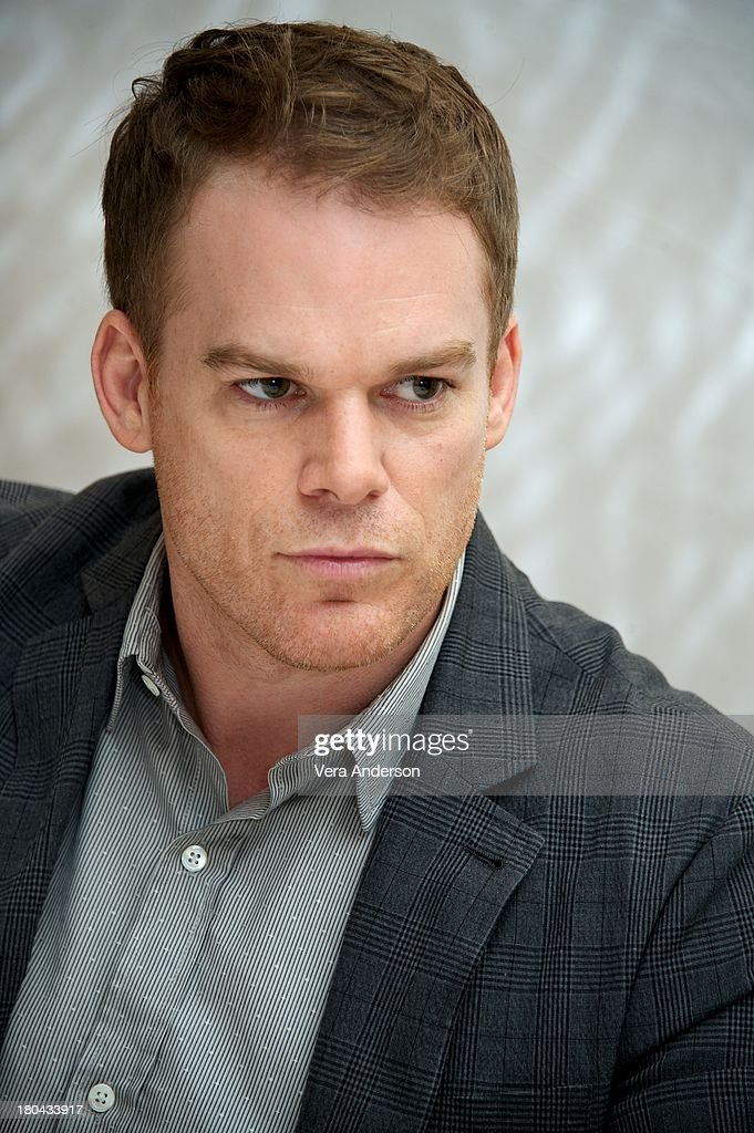 Michael C Hall at the 'Kill Your Darlings' Press Conference at The Fairmont Royal York Hotel on September 10 2013 in Toronto Ontario