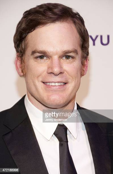 Michael C Hall attends NYU Tisch School of The Arts 2015 Gala at Frederick P Rose Hall Jazz at Lincoln Center on May 4 2015 in New York City