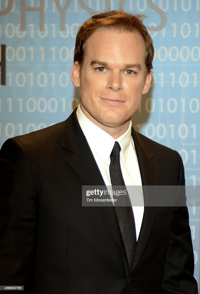 <a gi-track='captionPersonalityLinkClicked' href=/galleries/search?phrase=Michael+C.+Hall+-+Actor&family=editorial&specificpeople=680229 ng-click='$event.stopPropagation()'>Michael C. Hall</a> attends the Breakthrough Prize Inaugural Ceremony at Nasa Ames Research Center on December 12, 2013 in Mountain View, California.