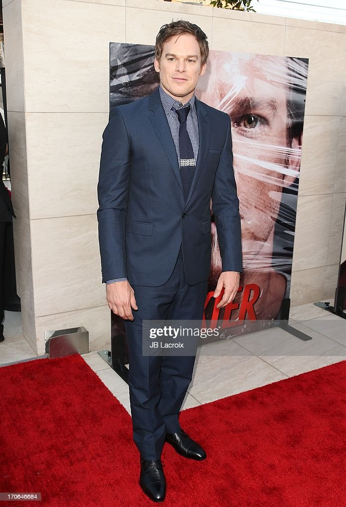 Michael C. Hall attends the 'Dexter' series finale season premiere party at Milk Studios on June 15, 2013 in Hollywood, California.