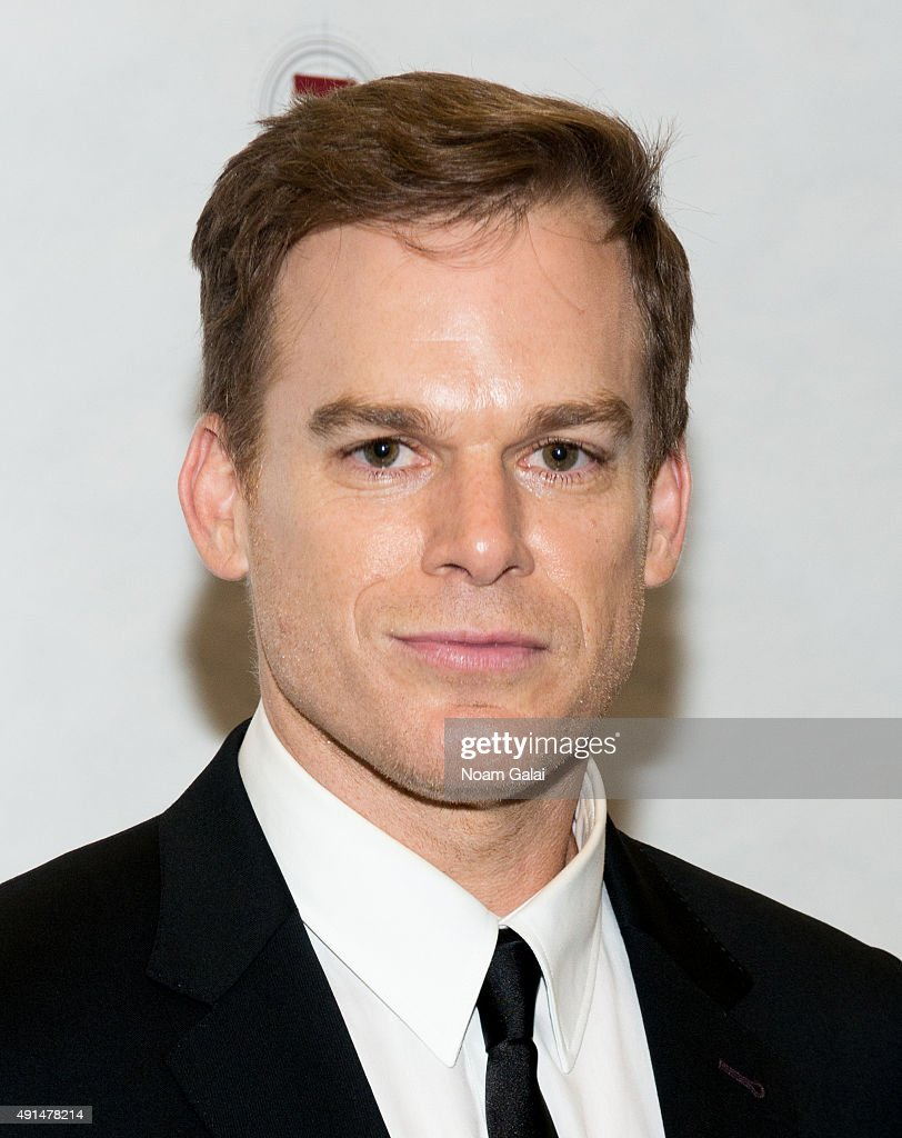 Michael C Hall attends the 'Gross Indecency The Three Trials Of Oscar Wilde' after party at John Jay College on October 5 2015 in New York City