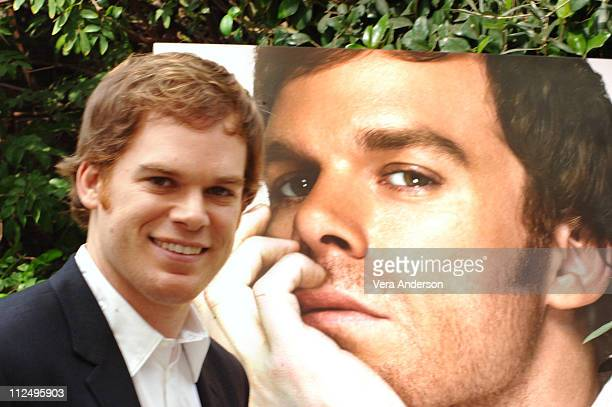 Michael C Hall during 'Dexter' Press Conference with Michael C Hall at Four Season in Beverly Hills California United States