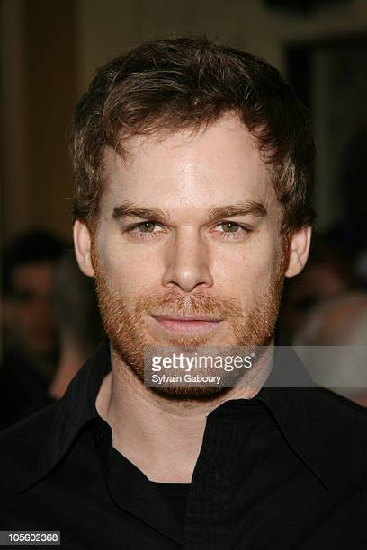 Michael C Hall during Opening Night of Broadway's 'Awake and Sing' Arrivals at Belasco Theater in New York NY United States