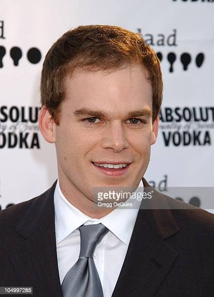 Michael C Hall during The 13th Annual GLAAD Media Awards Los Angeles Arrivals at Kodak Theatre in Hollywood California United States