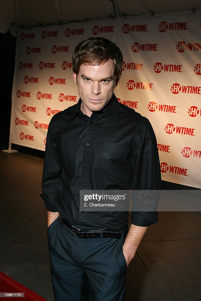 Michael C Hall during The Premiere of Showtime's Drama Series 'Dexter' at Director's Guild of America in Hollywood California United States