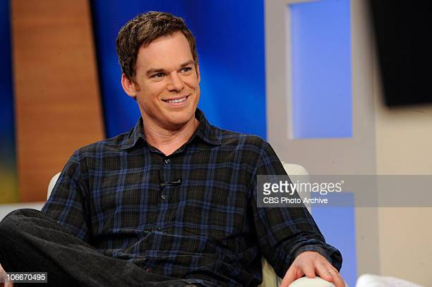 Michael C Hall of Showtime's 'Dexter' appears on The Early Show on Monday Sept 27 2010