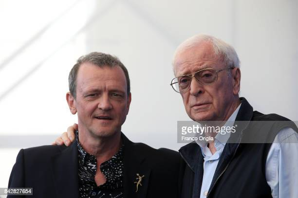 Michael Caine and David Batty attend the 'My Generation' photocall during the 74th Venice Film Festival at Sala Casino on September 5 2017 in Venice...