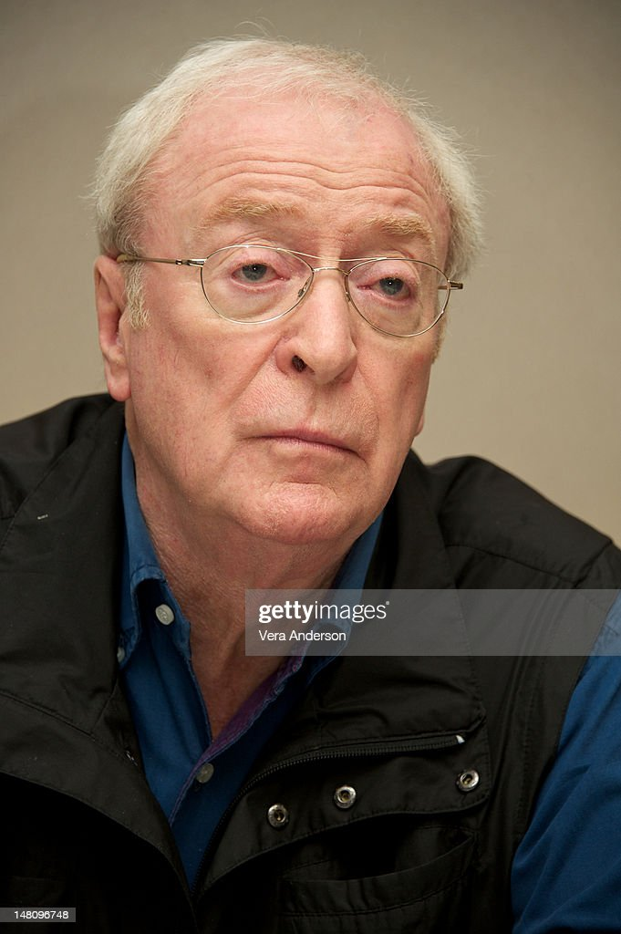 <a gi-track='captionPersonalityLinkClicked' href=/galleries/search?phrase=Michael+Caine+-+Actor&family=editorial&specificpeople=159746 ng-click='$event.stopPropagation()'>Michael Caine</a> at 'The Dark Knight Rises' Press Conference at The Beverly Hilton Hotel on July 8, 2012 in Beverly Hills, California.
